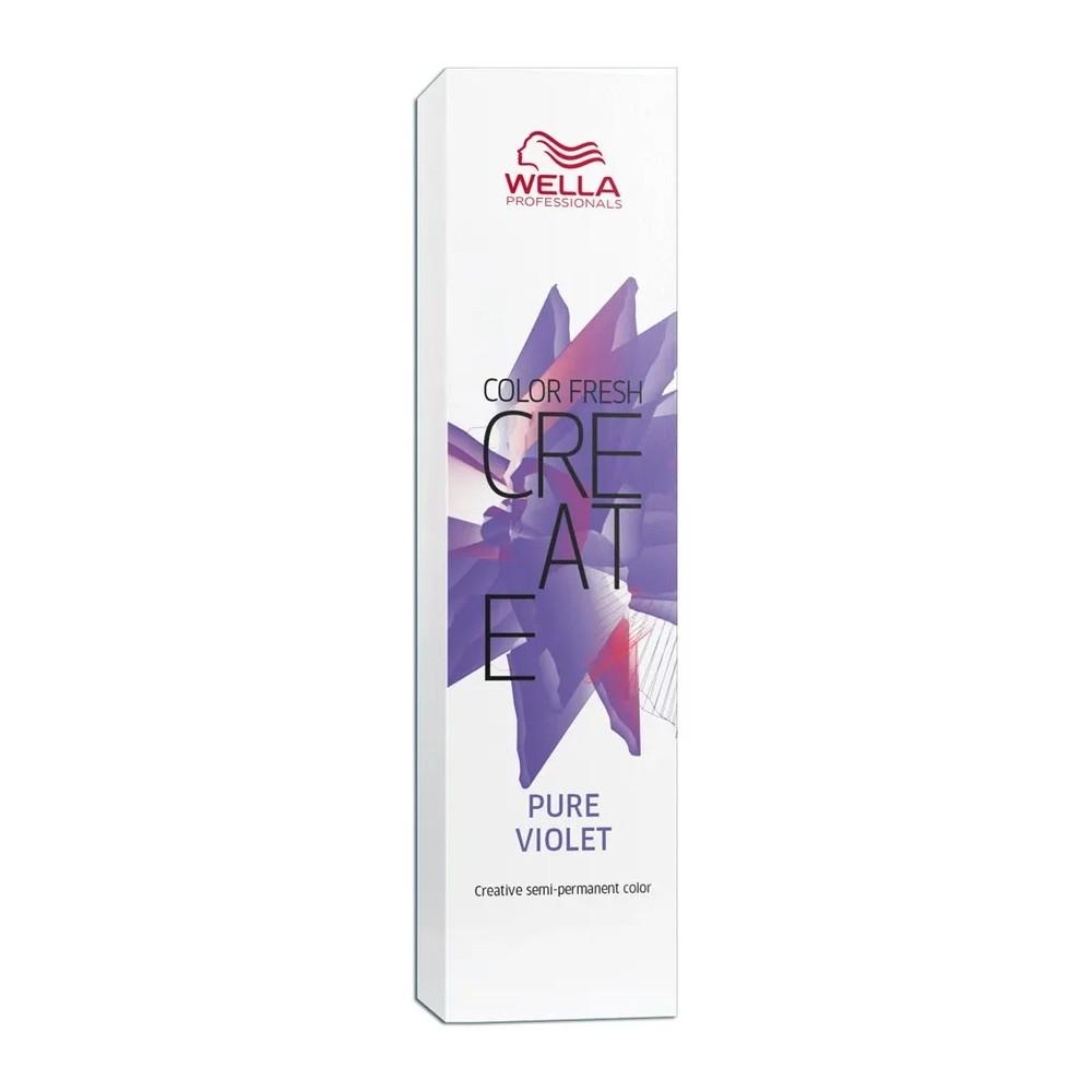 Wella Color Fresh Create Coloração Pure Violet - 60 ml
