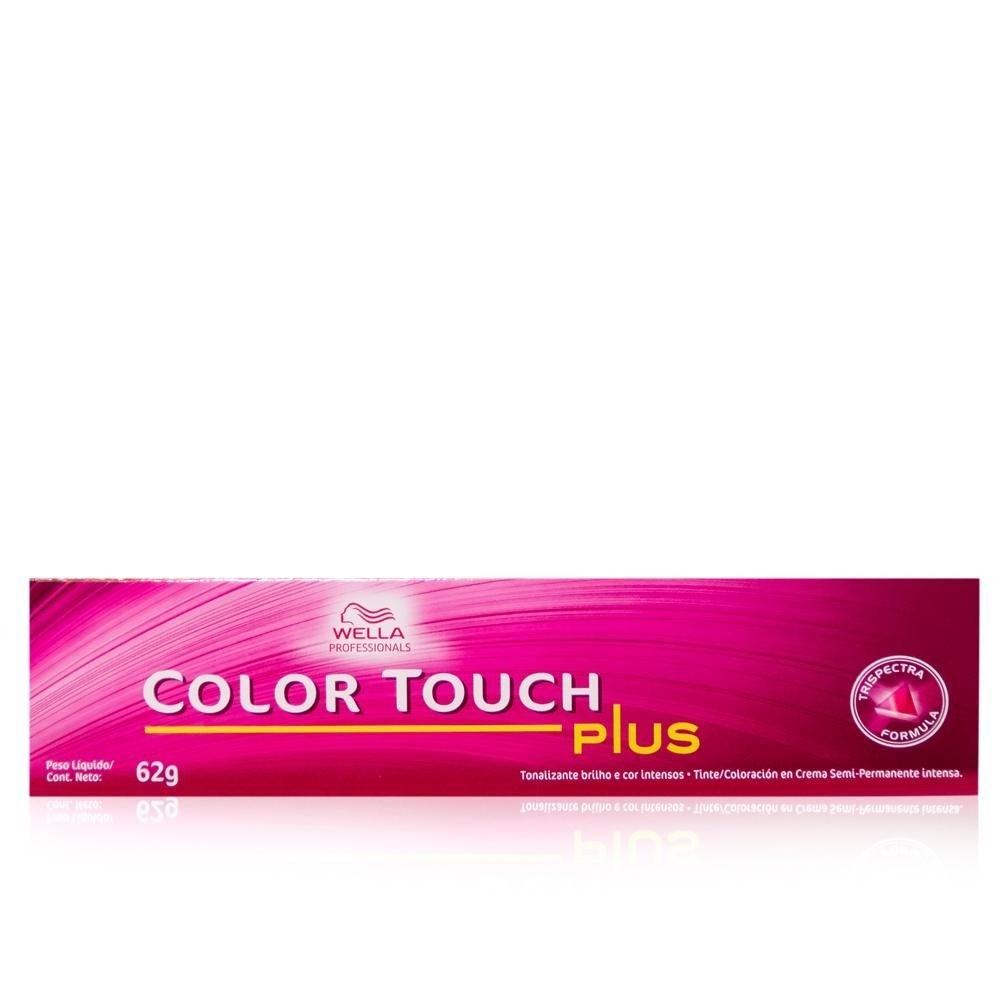 Wella Color Touch 55/07 Castanho Claro Intenso Natural Marrom - 60g