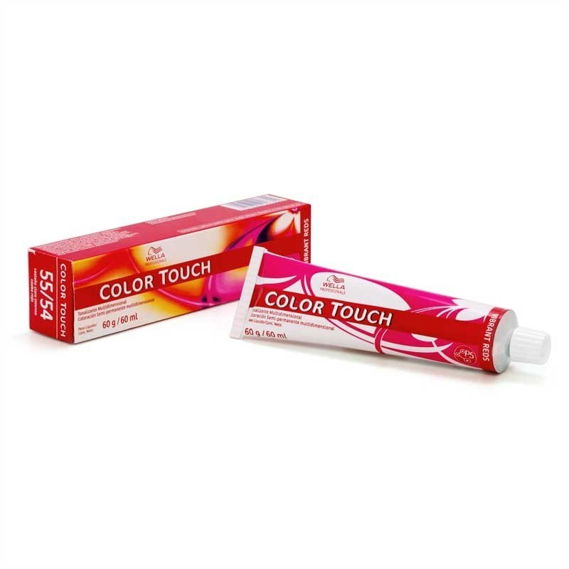 Wella Color Touch 5/4 Castanho Claro Avermelhado - 60ml