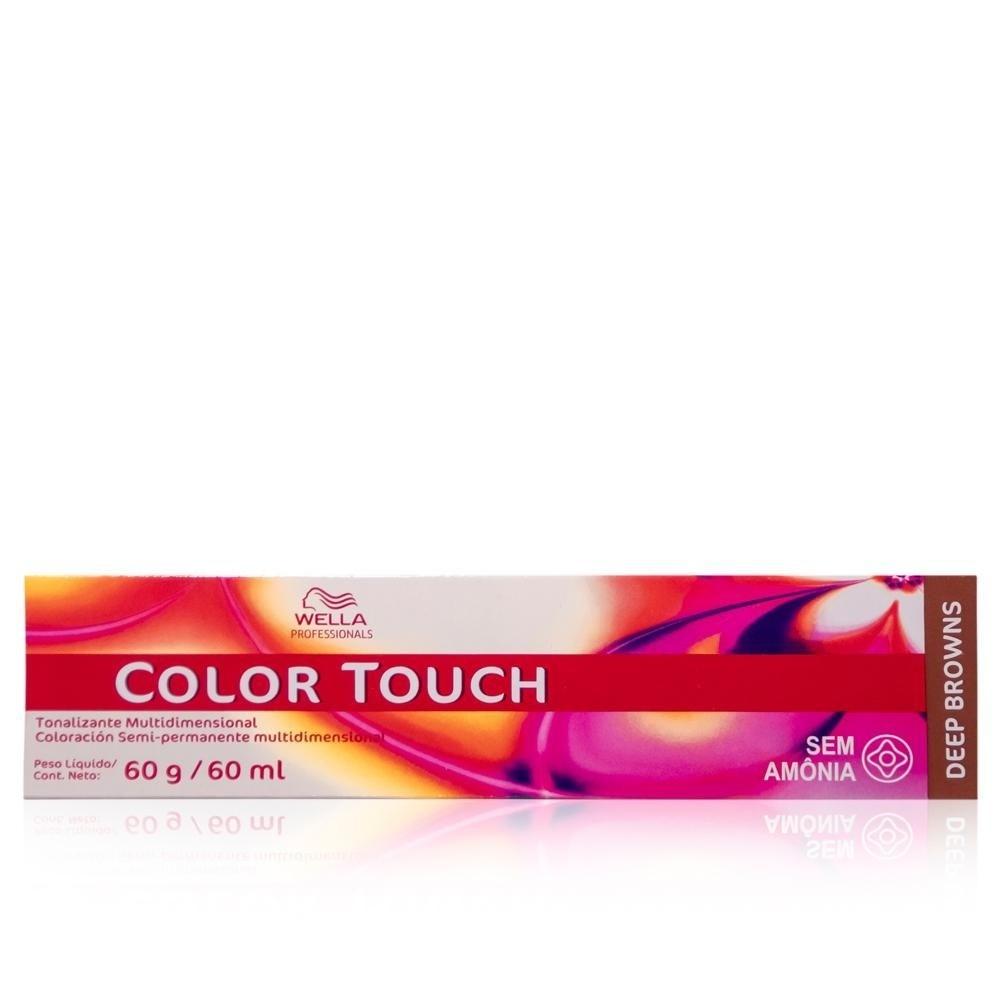 Wella Color Touch 5/71 Castanho Claro Marrom Acinzentado 60g