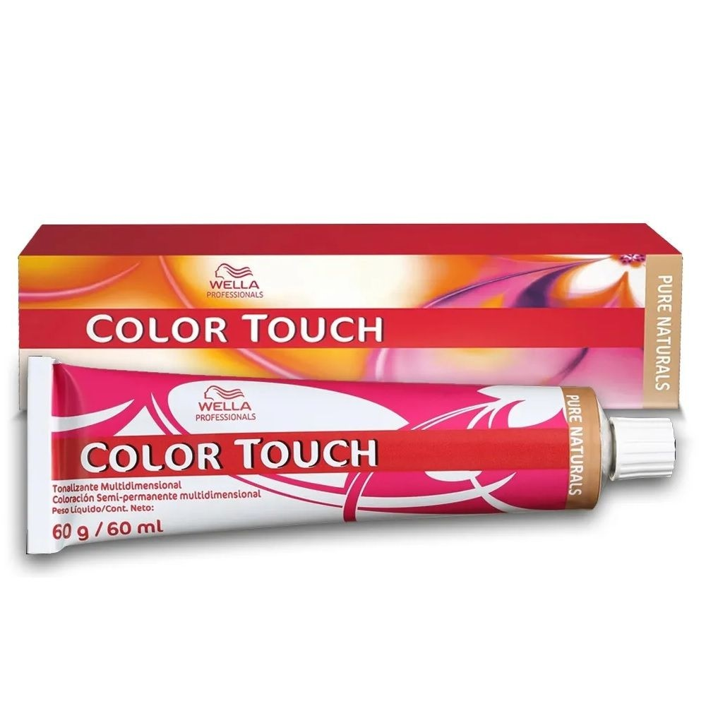 Wella Color Touch Pure Naturals 9/0 Louro Ultraclaro - 60g