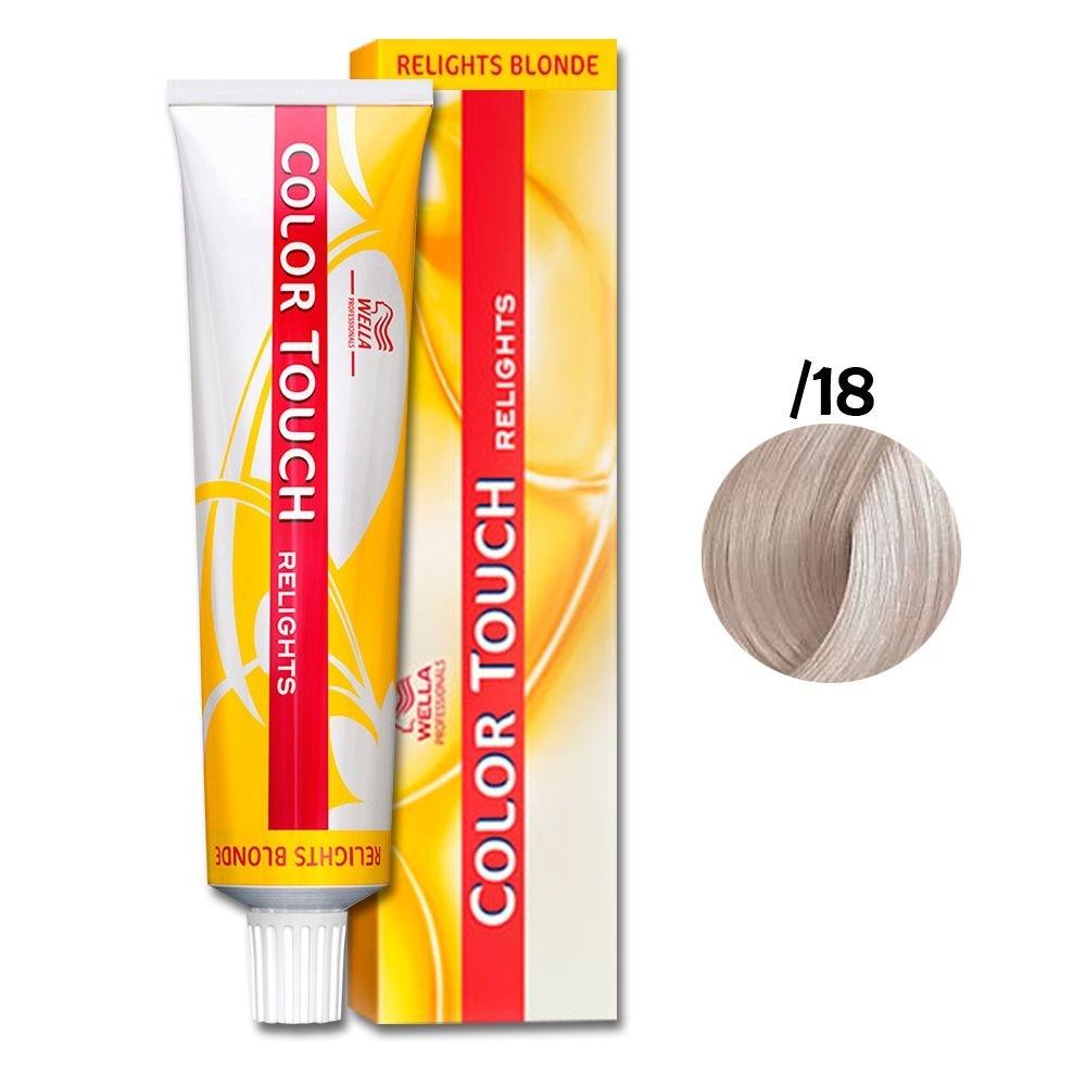 Wella Color Touch Religts Blonde 0-18 Cinza Perolado 60g