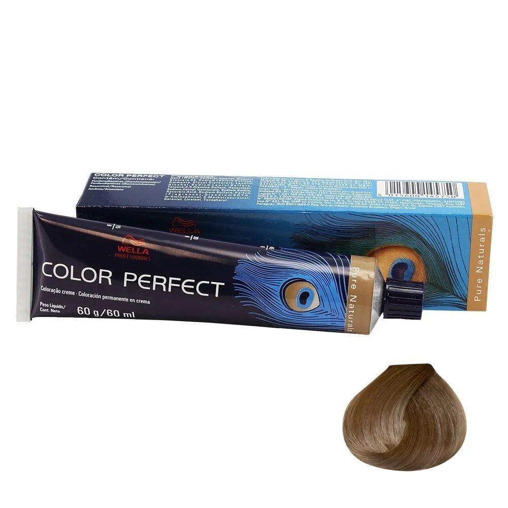 Wella Professionals Color Perfect 7/0 Louro Médio - Coloração Permanente 60gr