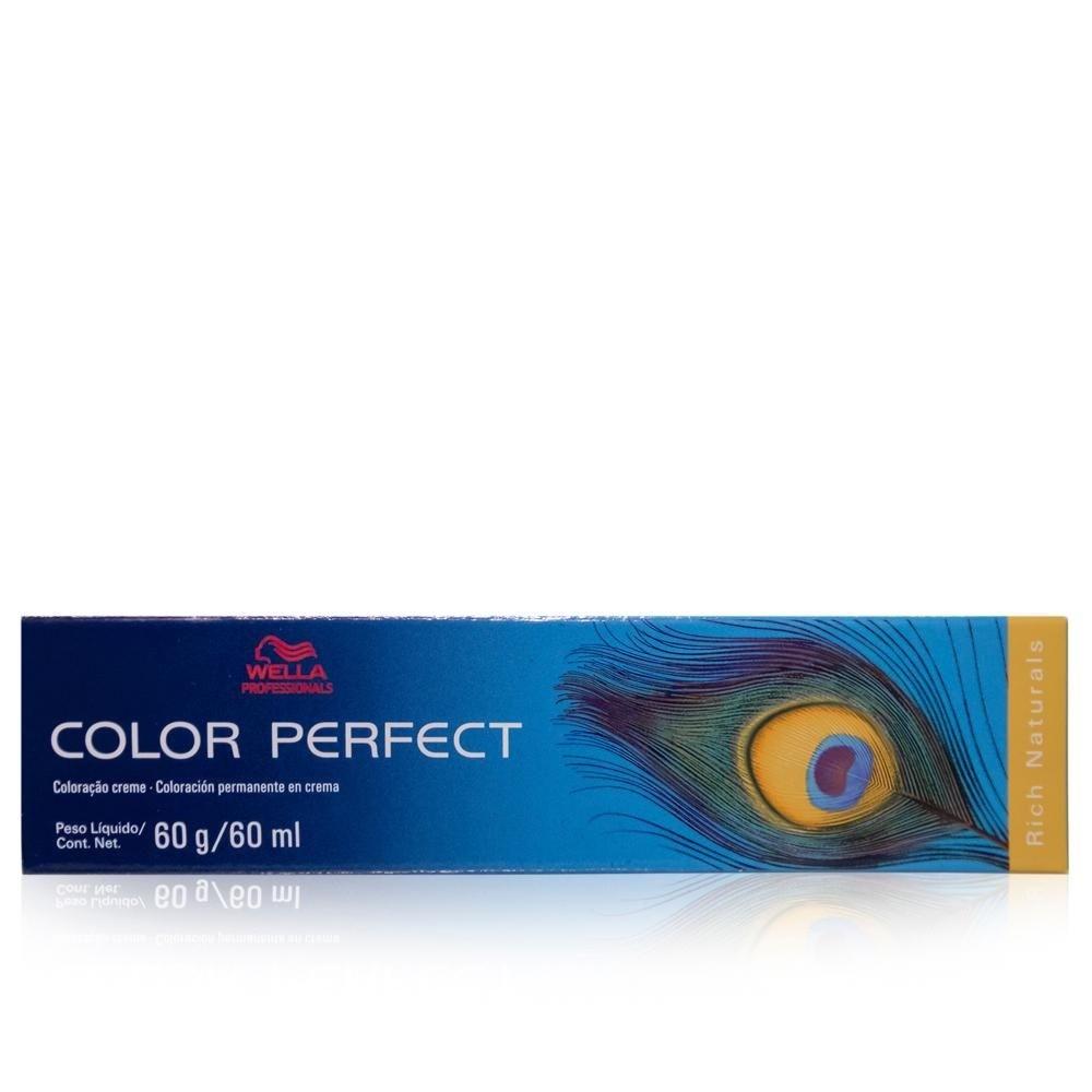 Wella Professionals Color Perfect Rich Naturals 6/1 Louro Escuro Acinzentado 60ml