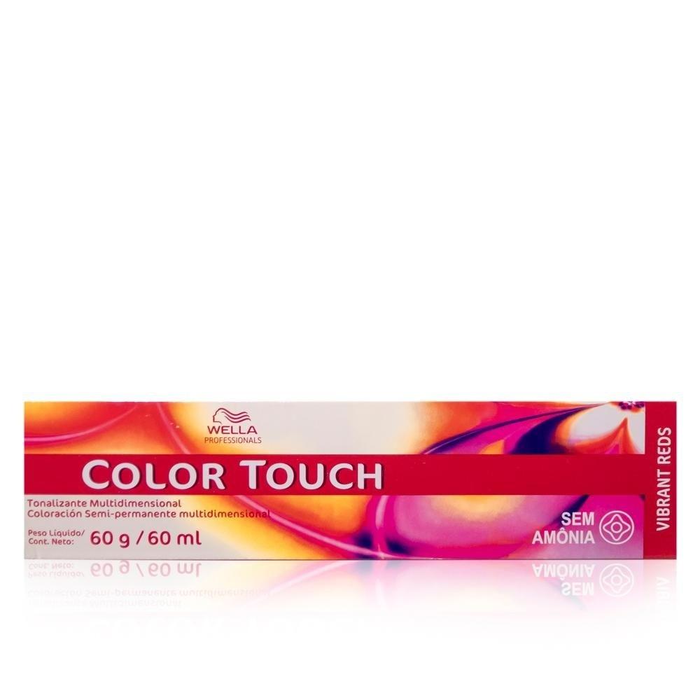 Wella Professionals Color Touch Vibrant Reds 4/6 Castanho Violeta - Tonalizante 60g