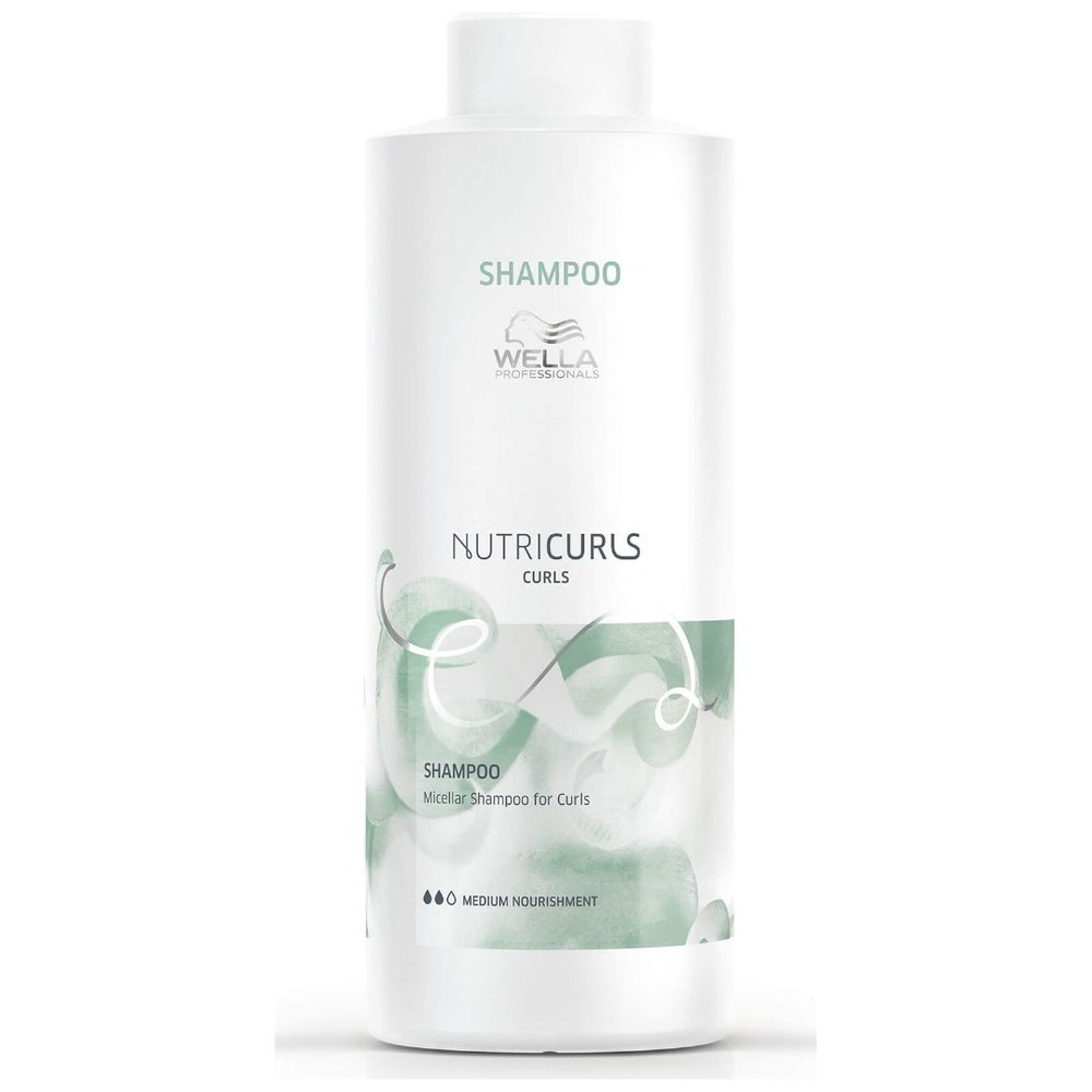 Wella Professionals Nutricurls - Shampoo 1000ml