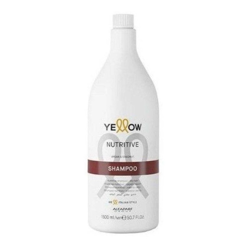 Yellow Nutritive Shampoo Argan & Coconut De 1500ml