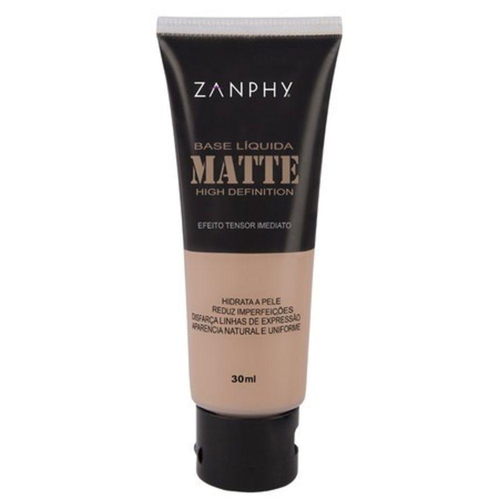 Zanphy Base Liquida  Matte Bege Natural 03