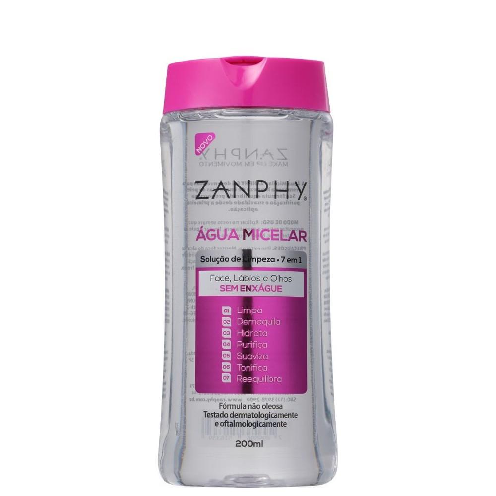 Zanphy Água Micelar  Demaquilante 200ml