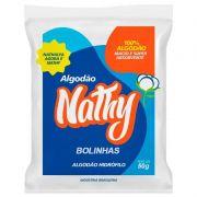 Algodão Bola Branco 95 Gr. - Nathy