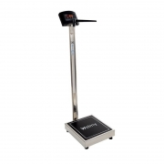 Balança Digital Antropométrica 200 Kg. Divisão 50 Gr. W200/50A Inox - Welmy