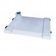 Balança Digital Para Cadeirante Com Rampa Incorporada 500 Kg Divisão 100 gr. WPL Cadeirante - Welmy
