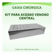 Caixa Cirúrgica Kit Para Acesso Venoso Central - ABC