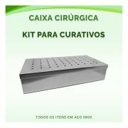 Caixa Cirúrgica Kit Para Curativos - ABC