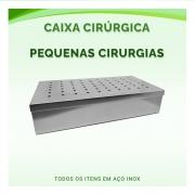 Caixa Cirúrgica Para Pequenas Cirurgias - ABC