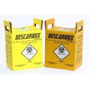 Coletor de Perfurocortante 3L C/10 Unidades - Descarbox