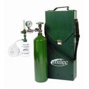 Conjunto de Oxigênio Portátil + Maleta - UM110 - UNITEC