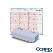 Eletrocardiógrafo 12 Derivações Para Uso em Notebook ou Desktop ECG-12S PC Com Software para Windows - Ecafix