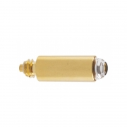 Lâmpada Para Finoff Alpha+, Glaucotest e Cabo de Laringoscópio Fibra Ótica 2,5V Xenon Halógeno XHL X-001.88.035 Genérica - JPN