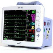 Monitor de Sinais Vitais Multiparamétrico BM5 ECG - Oximetria - PNI SunTech - Respiração - 2 Temp - 2 Pressão Invasiva - Bionet
