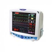 Monitor Multiparamétrico ECG + BPM + PNI + ST + SpO² + 2 Temperaturas MX600 - Emai