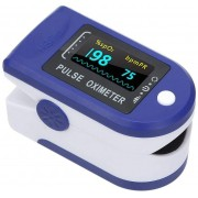Oxímetro de Pulso de Dedo C/ Curva Visor Colorido - AFK