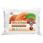 Travesseiro Lavável de Fibra Siliconizada Toque de Pêssego 50 x 70 Cm - Fibrasca