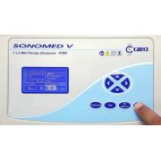 Ultrassom Fisioterápico Digital Sonomed V 1 e 3 Mhz Ref. 4150US - Carci