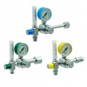 Válvula Reguladora Para Cilindro de Gases Com Fluxômetro - Unitec