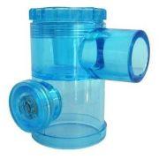 Válvula Unidirecional Para Reanimador Sem Bico Azul 0266 - Oxigel