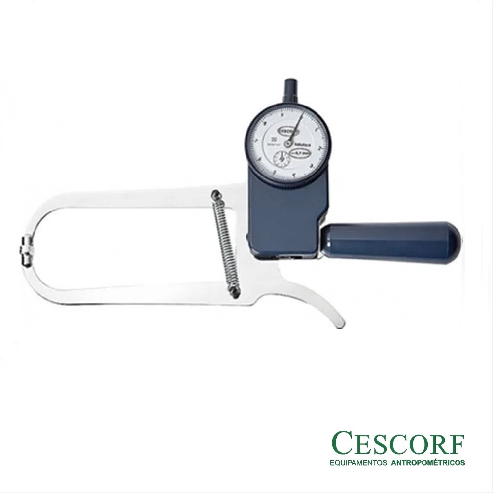 Adipômetro Plicômetro Científico Premier - Cescorf