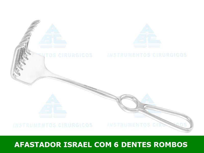 Afastador Israel 23 cm P/ Uso Geral - ABC