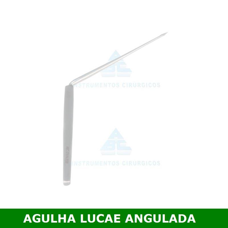 Agulha de Lucae 18cm P/ Paracentese - ABC