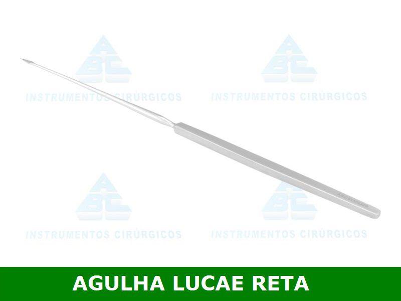 Agulha de Lucae 18cm P/ Parasentese - ABC