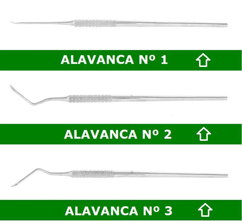 Alavanca Heidbrink P/ Raízes Infantil Odontológico - ABC
