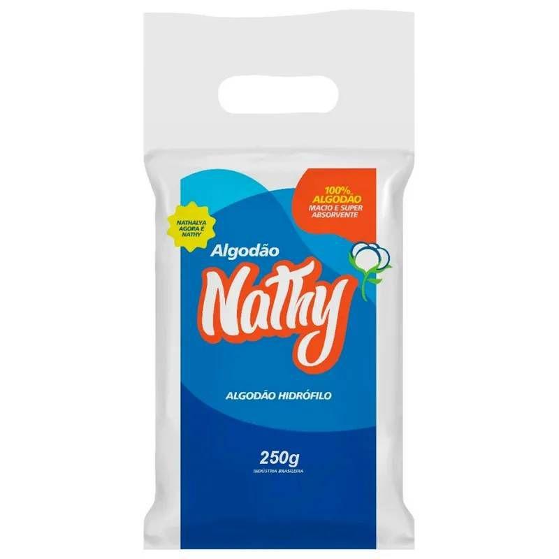 Algodão Hidrófilo Rolo 250 Gr. - Nathy