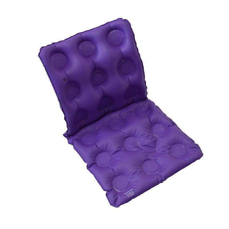 Almofada Caixa de Ovo Gel Quadrada Com Encosto Inflável - BioFlorence