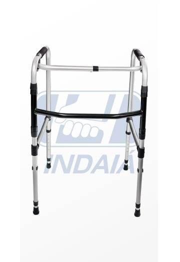 Andador Dobrável Articulado Alumínio 2 Barras (ANB2) - Indaia