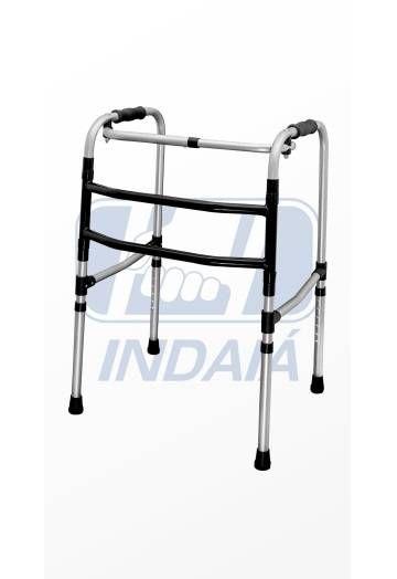 Andador Dobrável Articulado Alumínio 3 Barras (ANB3) - Indaia