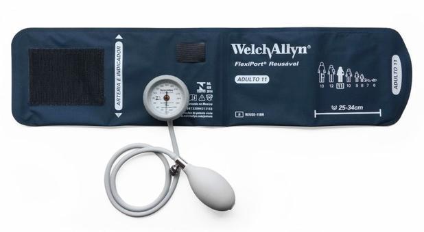 Aparelho de Pressão Adulto Durashock DS44-11BR Welch Allyn Tycos