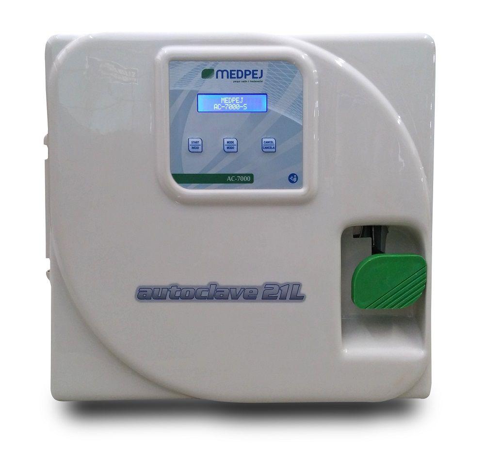 Autoclave Horizontal 12 Litros AC-7000 - Medpej