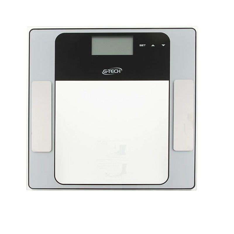 Balança Digital Com Medição de Gordura 150 Kg. Glass 7FW - G-Tech