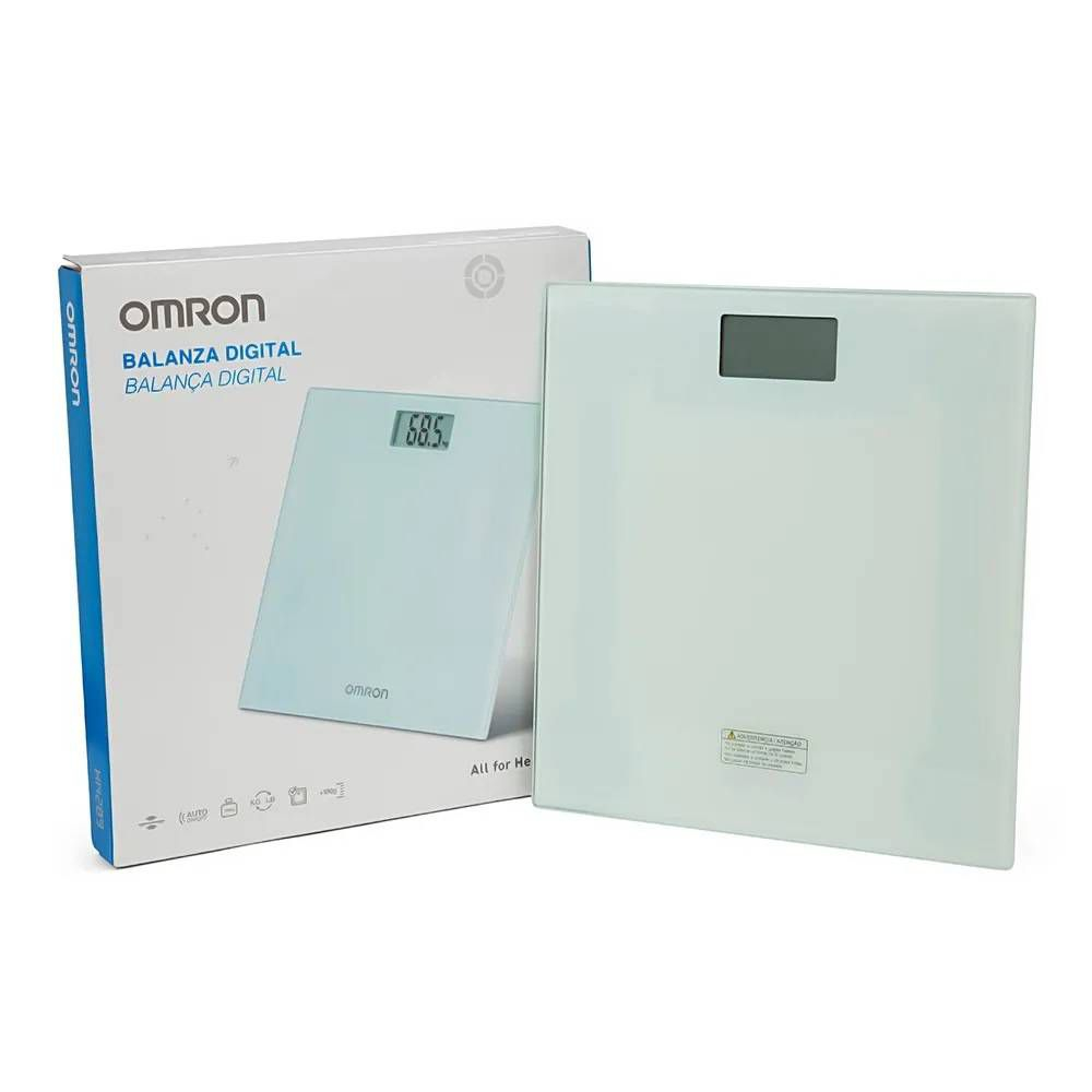 Balança Digital de Vidro HN-289 - Omron