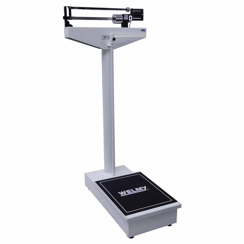 Balança Mecânica Antropométrica 300 Kilos Divisão 100 gramas Plataforma de 54 x 38 cm 104A - Welmy