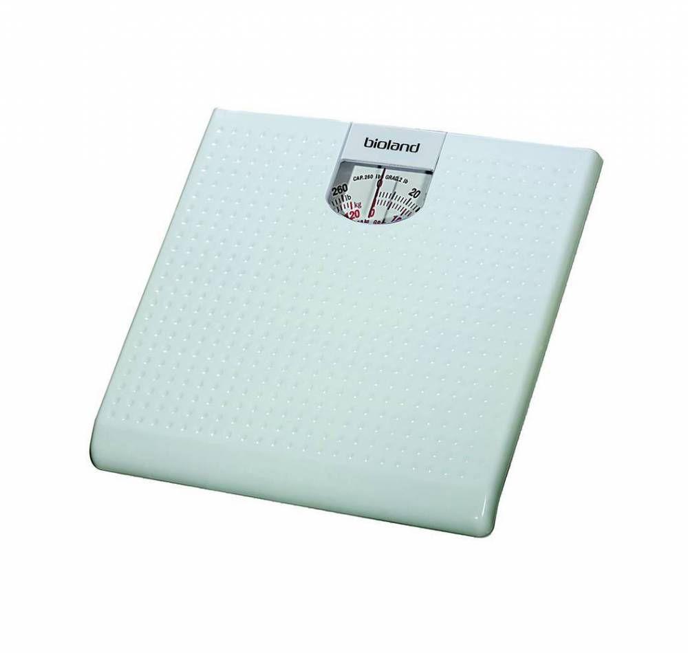 Balança Mecânica Até 120 Kg. Branca BR9012 - Bioland