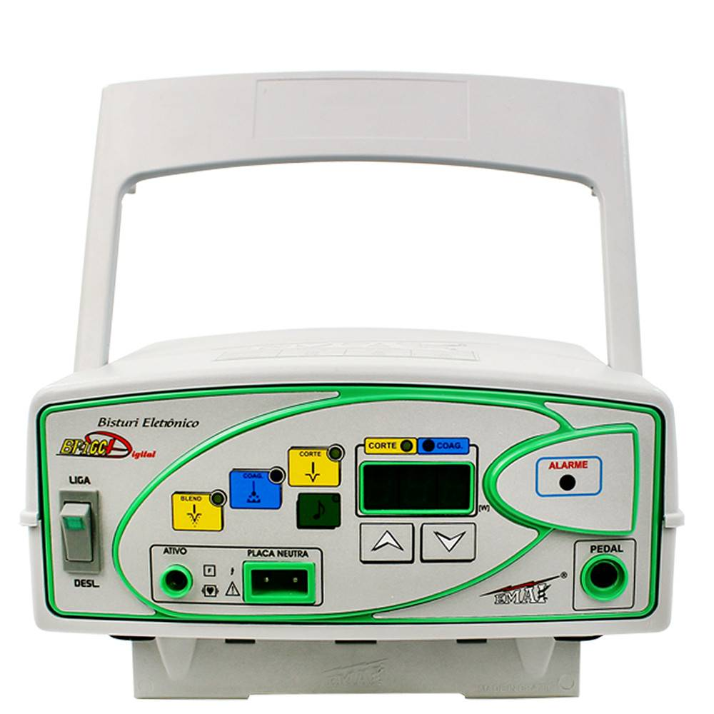 Bisturi Eletrônico BP100D DIGITAL 100 Watts - Emai