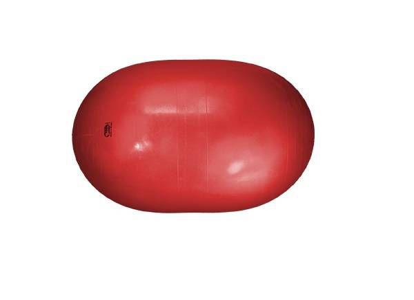 Bola de Fisioterapia Feijão Carci Bean 30 x 60 cm Vermelha Ref. RL.02.30 - Carci