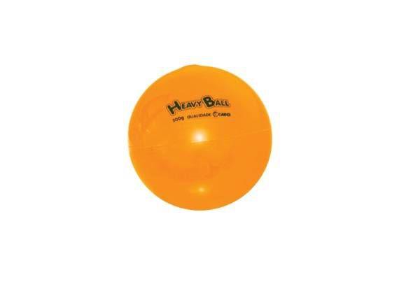 Bola para Exercícios Com Peso Heavy Ball 0,5 kg Ref. BP.0500 - Carci