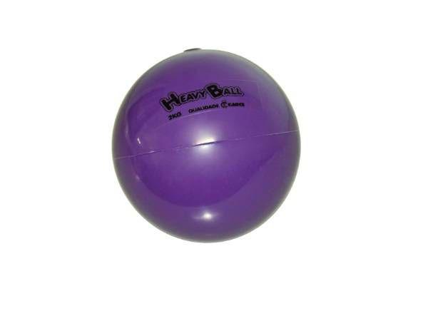 Bola para Exercícios Com Peso Heavy Ball 2 kg Ref. BP.02- Carci