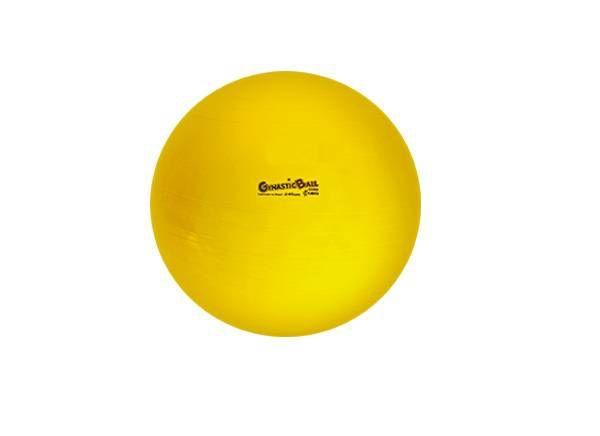 Bola Suíça para Exercícios e Pilates Gynastic Ball 45 cm Amarela Ref. BL.01.45 - Carci